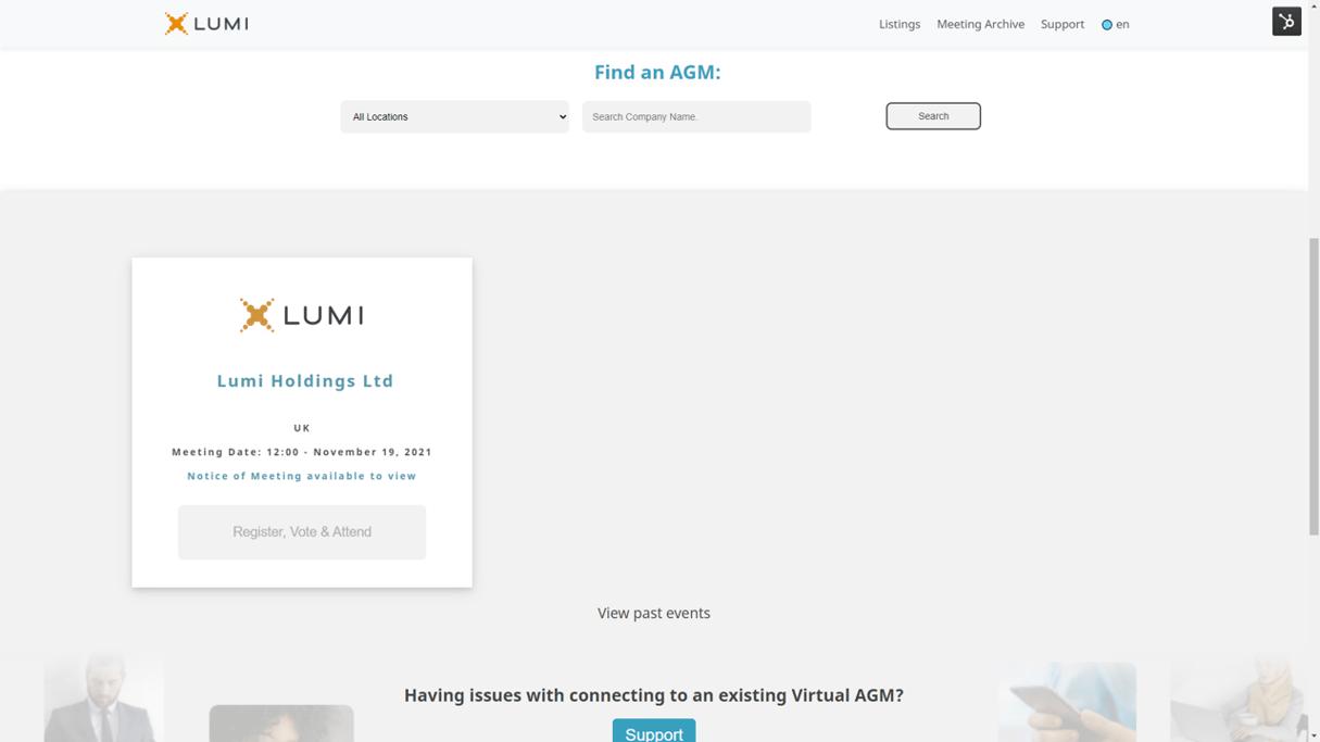 Lumi AGM Home Page 3
