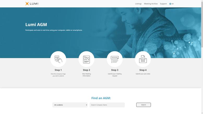 Lumi AGM Home Page